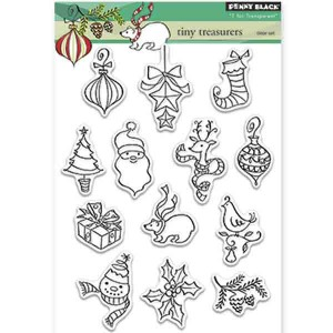 Penny Black Tiny Treasures Stamp Set