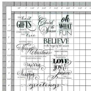 Penny Black Believe Stamp Set class=