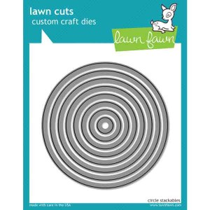 Lawn Fawn Circle Stackables Lawn Cuts