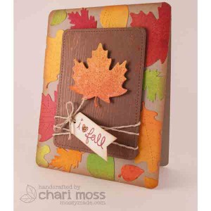 Lawn Fawn Stitched Leaves Lawn Cuts class=