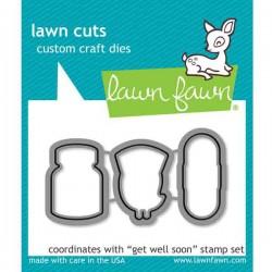 Lawn Fawn Get Well Soon Lawn Cuts