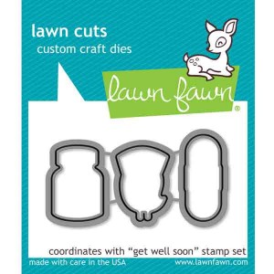 Lawn Fawn Get Well Soon Lawn Cuts