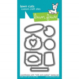 Lawn Fawn Milk and Cookies Lawn Cuts