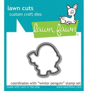 Lawn Fawn Winter Penguin Lawn Cuts