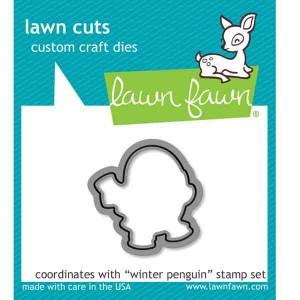 Winter Penguin Lawn Cuts