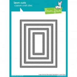 Lawn Fawn Large Stitched Rectangle Stackables
