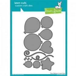 Lawn Fawn Party Balloons Lawn Cuts