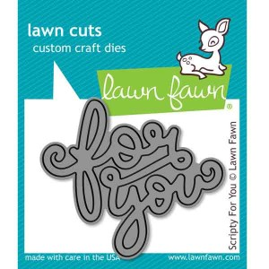 Lawn Fawn Scripty For You Lawn Cuts