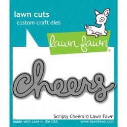 Lawn Fawn Scripty Cheers Lawn Cuts