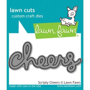 Lawn Fawn Scripty Cheers Lawn Cuts