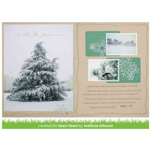 Lawn Fawn Let It Snow Border Lawn Cuts class=