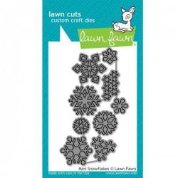 Lawn Fawn Mini Snowflakes Lawn Cuts