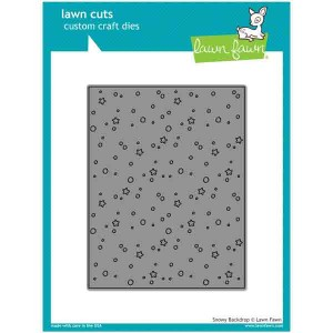 Lawn Fawn Snowy Backdrop Lawn Cuts
