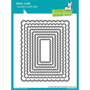 Lawn Fawn Scalloped Rectangle Stackables