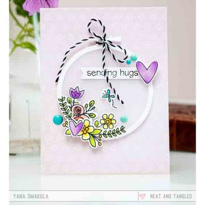 Neat & Tangled Hand Stitched Die Set class=