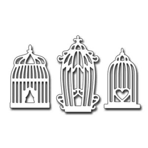 Penny Black Vintage Cages Die Set