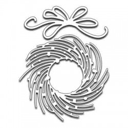 Penny Black Whirl Wreath Die