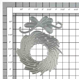 Penny Black Whirl Wreath Die class=