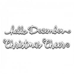 Penny Black Hello Christmas Die Set