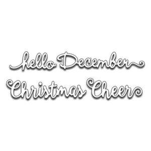 Penny Black Hello Christmas Die Set