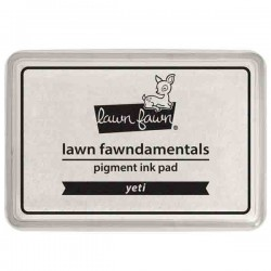 Lawn Fawn Yeti White Ink Pad