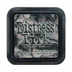 Tim Holtz Distress Ink Pad - Black Soot