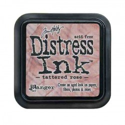 Tim Holtz Distress Ink Pad - Tattered Rose