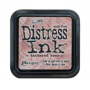 Tim Holtz Distress Ink Pad - Tattered Rose class=