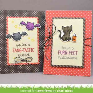 "Lawn Fawn Let's Polka in the Dark Petite Paper Pack - 6"" x 6"" class="