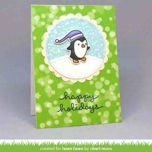 """Lawn Fawn Pine Needle Bokeh Paper - 12"""" x 12"""" class="""
