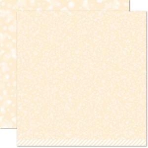 """Lawn Fawn Snowflake Bokeh Paper - 12"""" x 12"""""""