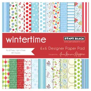 Penny Black Wintertime Paper Pad