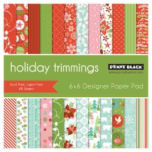 Penny Black Holiday Trimmings Paper Pad