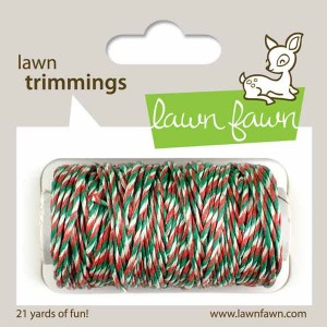 Lawn Fawn Trimmings Hemp Cord - Mistletoe
