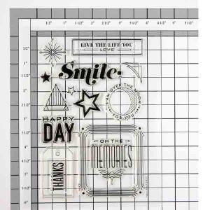 Hero Arts Happy Day Stamp Set class=