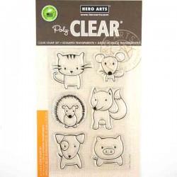 Playful Animals Stamp Set