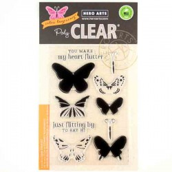 Color Layering Butterflies Stamp Set