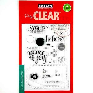 Peace & Joy Stamp Set