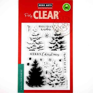 Color Layering Christmas Trees Stamp Set