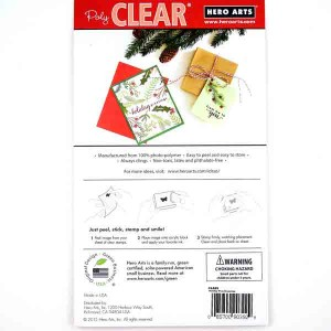 Hero Arts Holiday Pine Branches Stamp Set class=