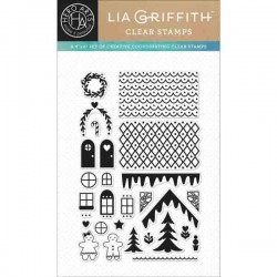 Make A Gingerbread House Stamp Set