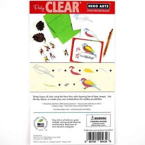 Hero Arts Color Layering Dimensional Bird Stamp Set class=
