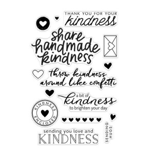 Hero Arts Acts of Kindness Stamp Set class=