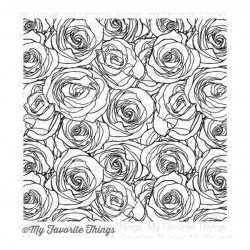 BG Roses All Over Background