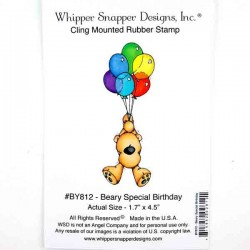 Whipper Snapper Beary Special Birthday Stamp
