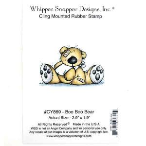 Whipper Snapper Boo Boo Bear Stamp
