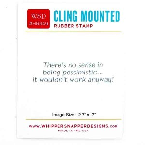 Whipper Snapper Pessimism Stamp class=