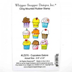 Whipper Snapper Cupcakes Galore Stamp