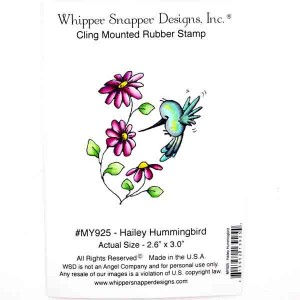 Whipper Snapper Hailey Hummingbird Stamp