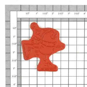 Whipper Snapper Snowman Skater Stamp class=